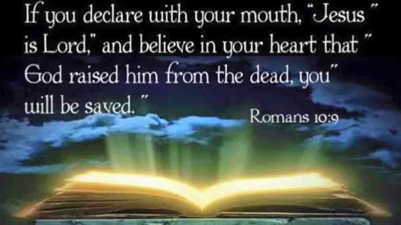 What Jesus Had to Say about About Romans 10:9 - Patty Sadallah